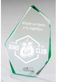 Trofeo de cristal Premium Thumb