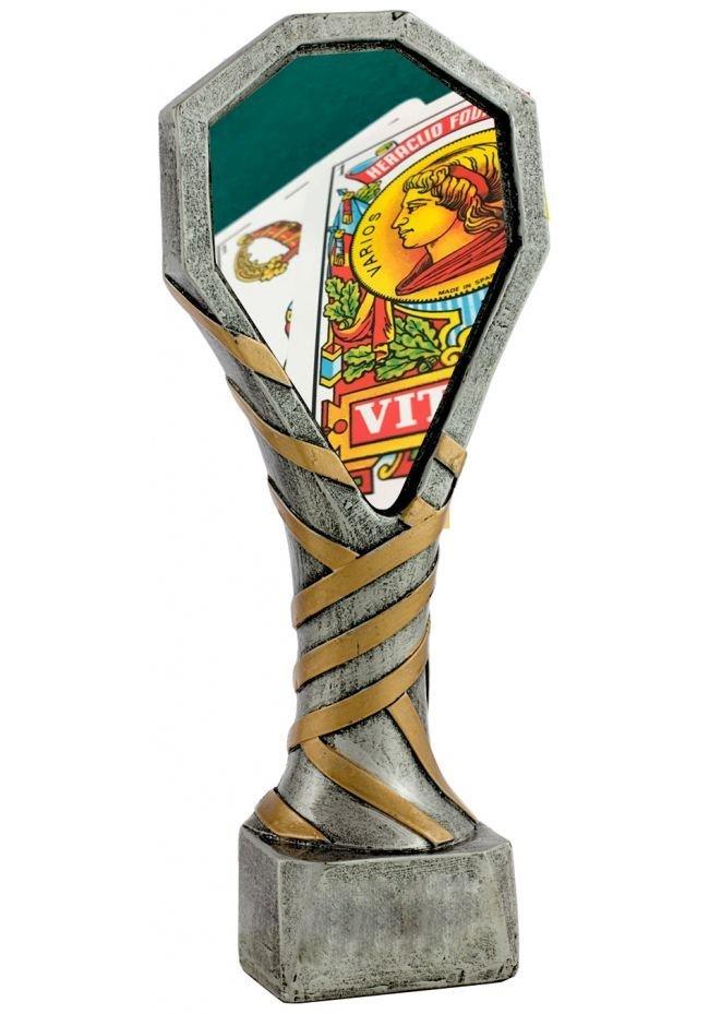 Trofeo de Cartas 3 tamaños