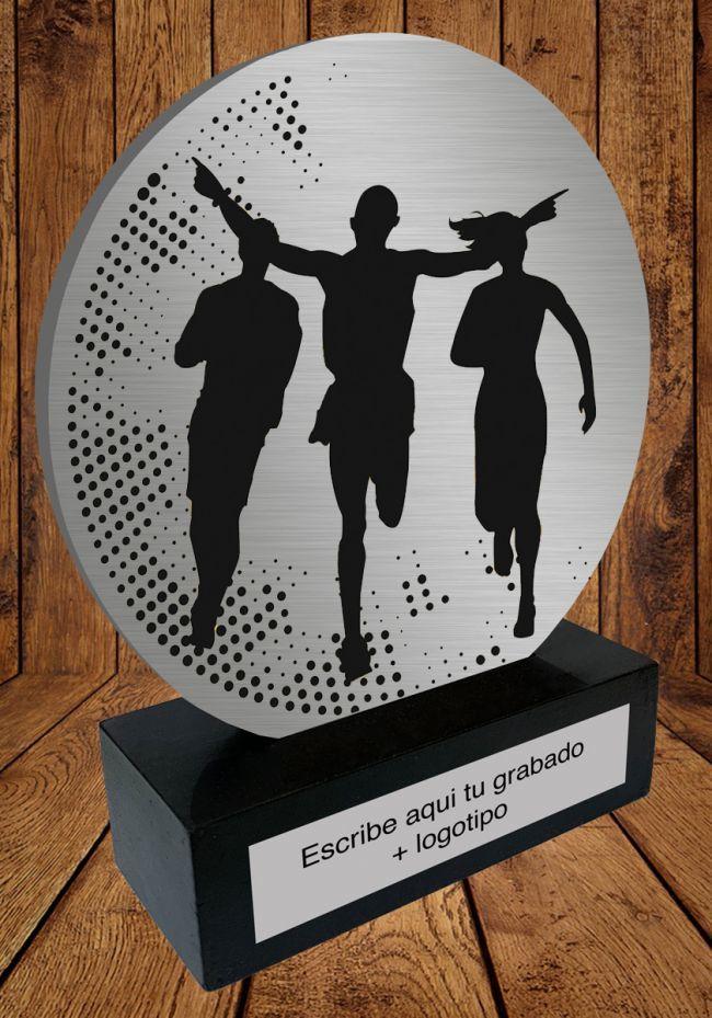 Trofeo de aluminio para Carreras
