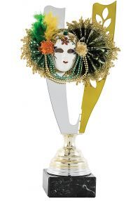 Trofeo Copa Aplique Máscara