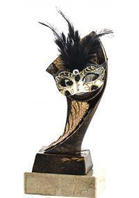 Trofeo Portadisco Resina Máscara-1