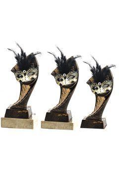 Trofeo Portadisco Resina Máscara Thumb