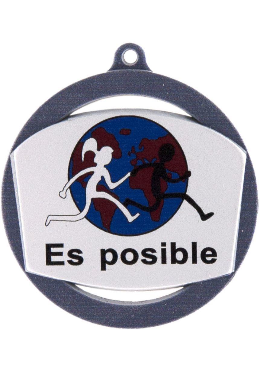 Medalla impresión a color de 60mm