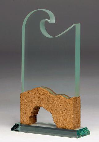 4038 trofeo de cristal