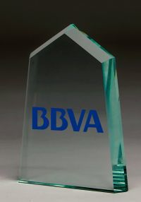 Trophy glass prism color