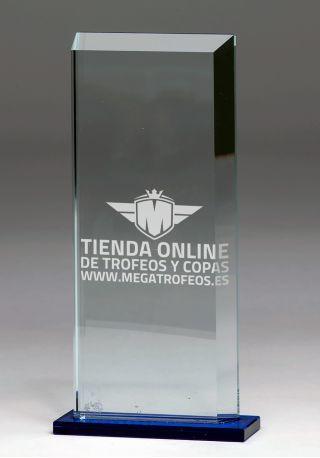 4059 trofeo de cristal grabado