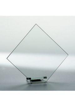 Trofeo de cristal personalizado rombo Thumb