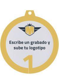 Medalla metacrilato personalizada de 50mm-2