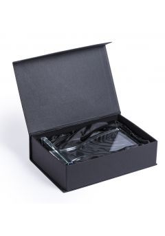 Trofeo con forma de copa de cristal Thumb