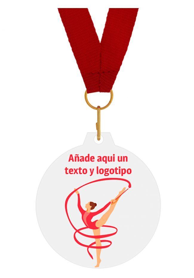 Medalla metacrilato Gimnasia Rítmica