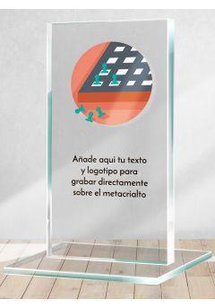 Trofeo de Ajedrez en metacrilato