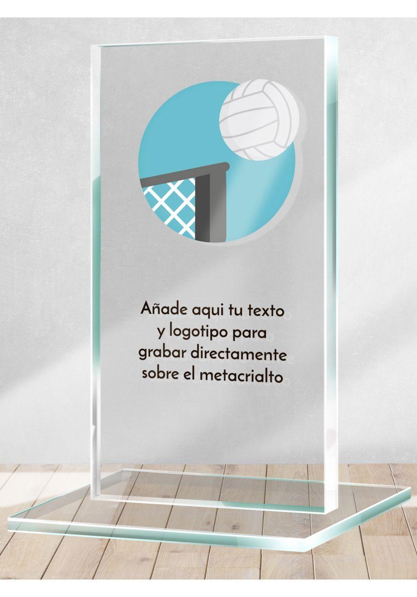 Trofeo de Voleibol en metacrilato