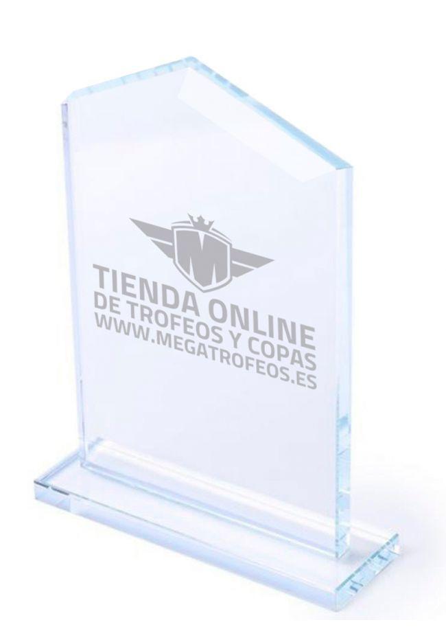 Troféu de vidro Glash