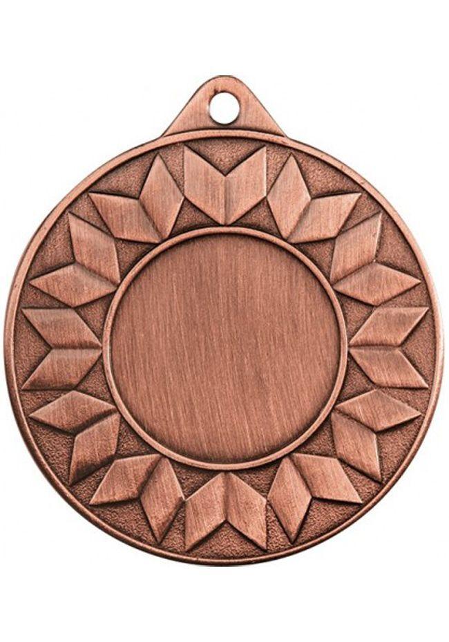 Medalla espiral alegórica portadisco deportivo 50mm