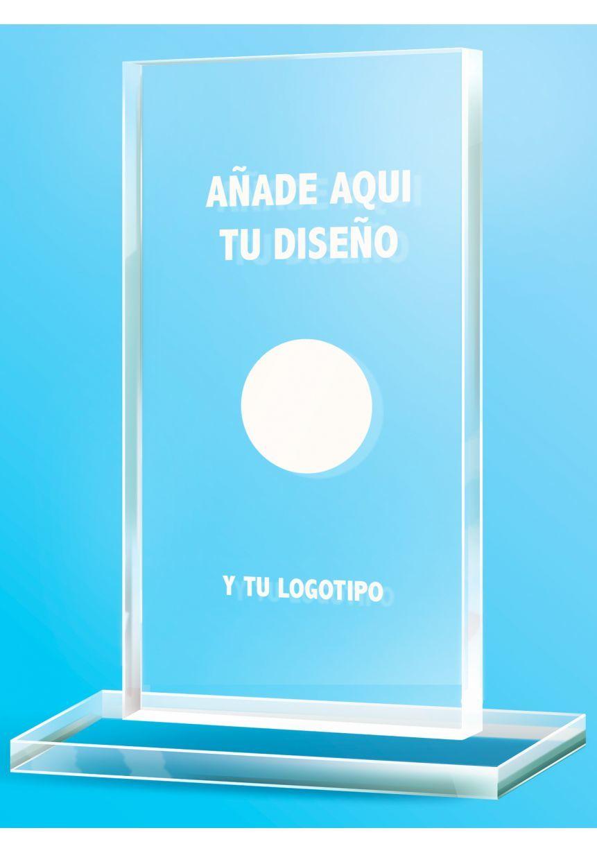Trofeo Personalizado en metacrilato