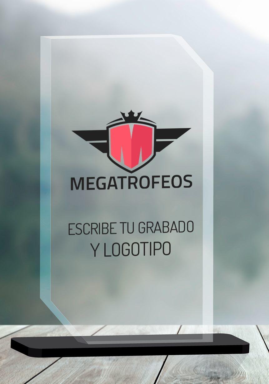 Trofeo tagliato in angoli metacrilato