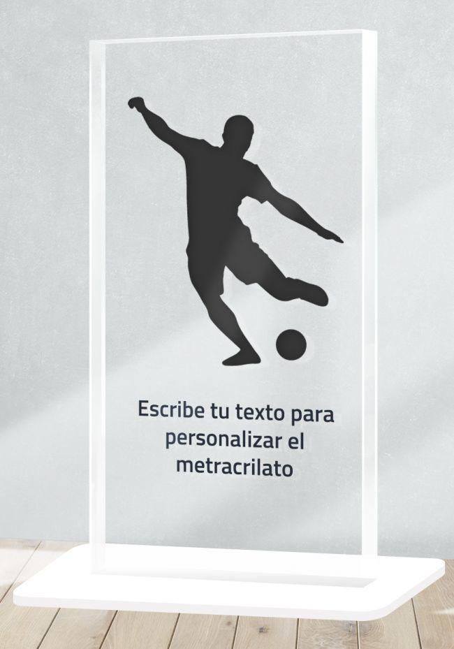 Trofeo de Futbol en metacrilato