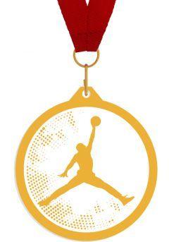 Medalla de metacrilato para baloncesto Thumb