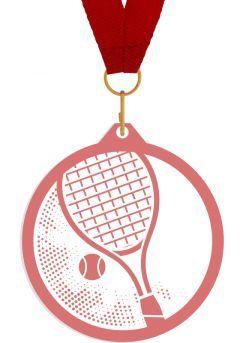 Medalla de metacrilato para tenis Thumb