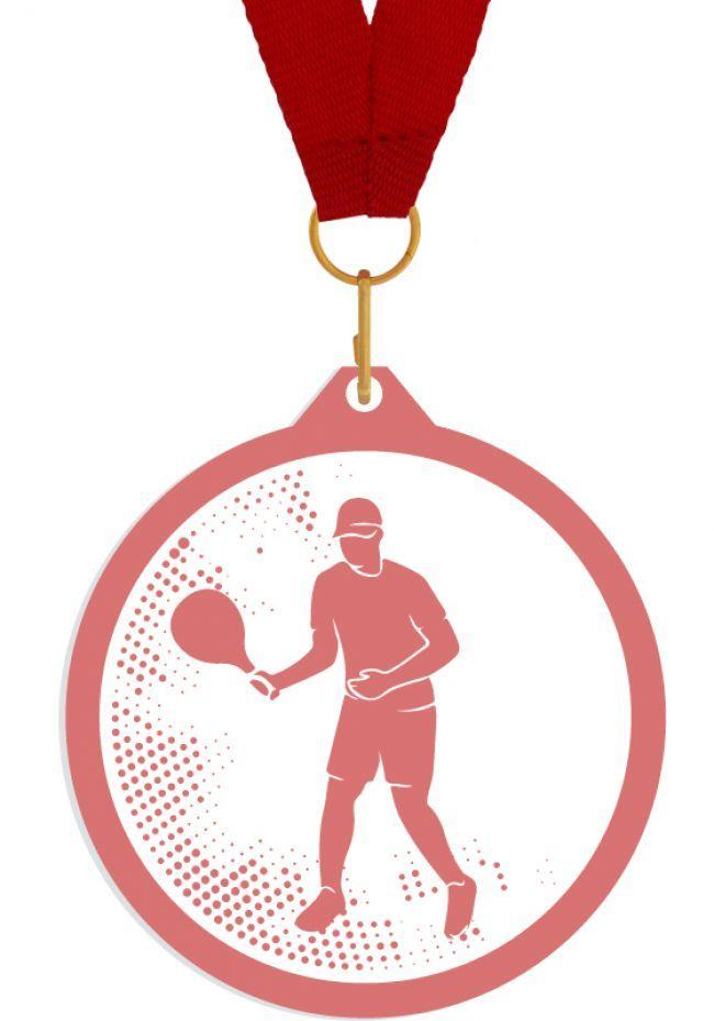 Medalla de metacrilato para padel