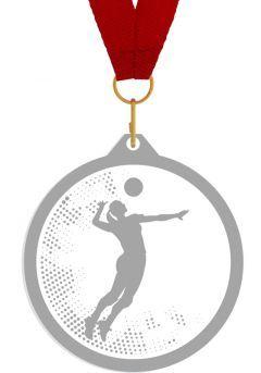 Medalla de metacrilato para voleibol Thumb