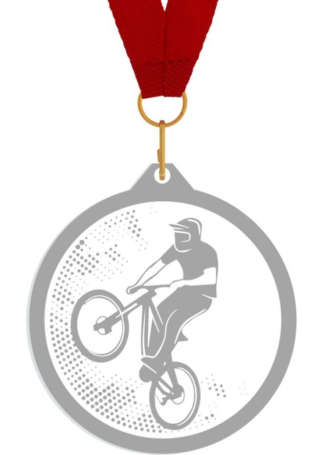 Medalla de metacrilato para mtb
