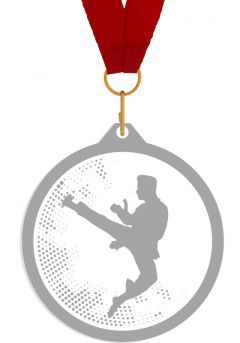Medalla de metacrilato para artes marciales Thumb