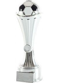 Trofeo de una pieza con soporte balón fútbol