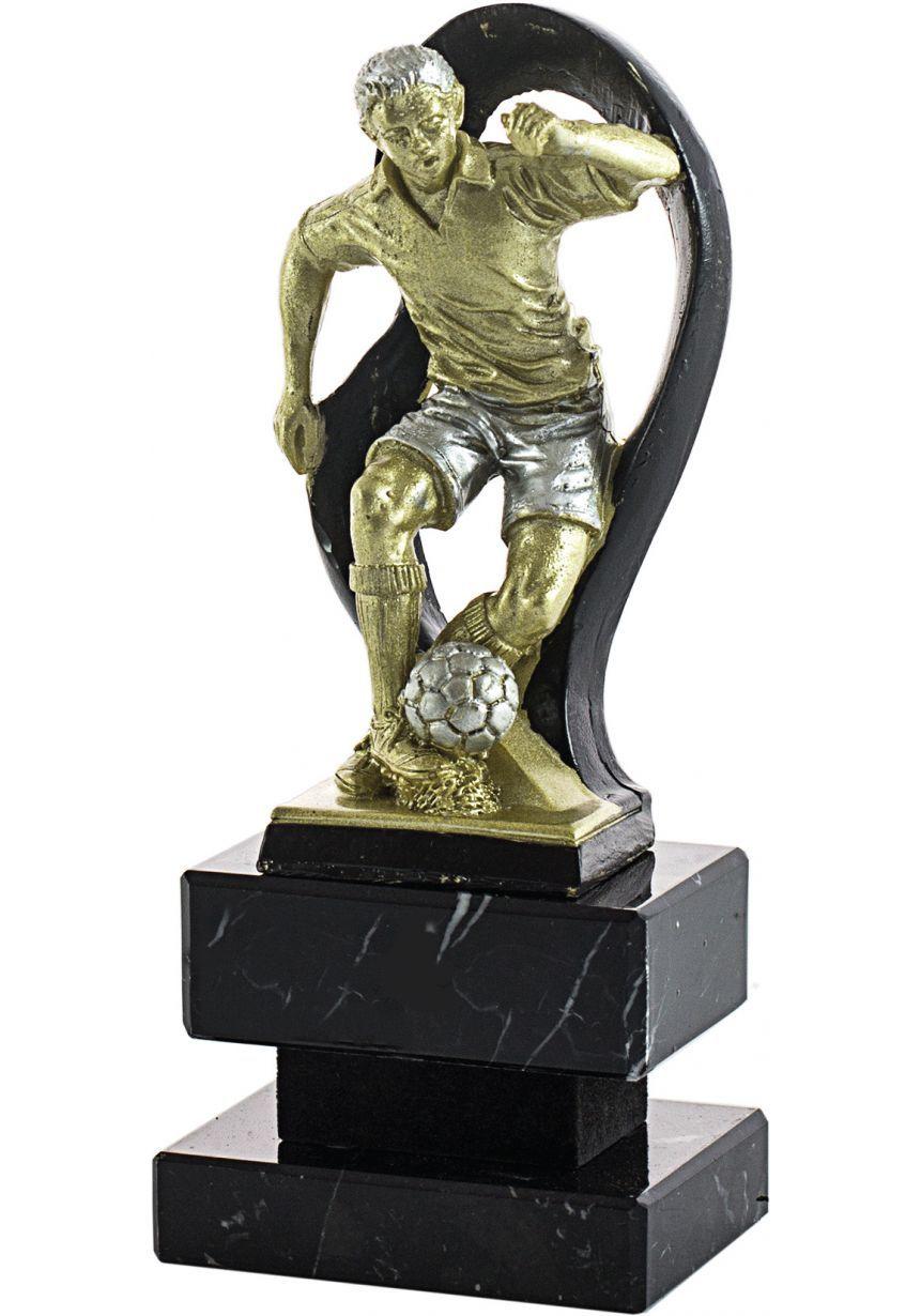 Futbolista Dorado/negro Manto