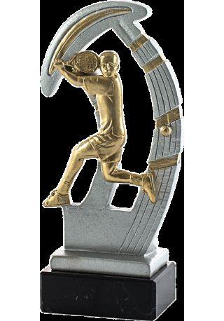 Trofeo de resina deportivo de padel
