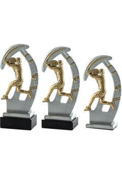 Trofeo de resina deportivo de padel Thumb