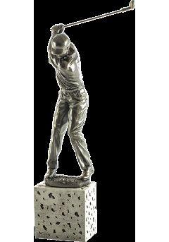 Trofeo de un jugador golf