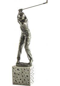 Trofeo de un jugador golf-1
