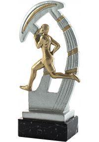 Trofeo de resina deportivo de cross-1