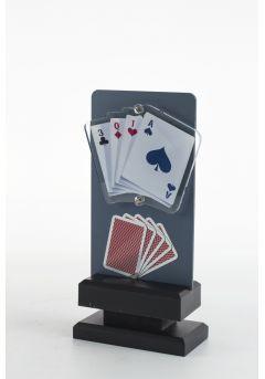 Trofeo de Cartas Póquer con detalle Thumb