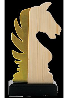 trofeo de ajedrez en metalmadera 13