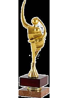 Trofeo figura dos bailarines