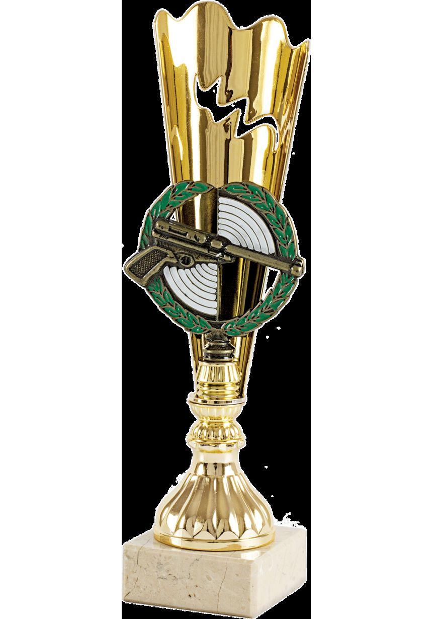 Trofeo de aplique de pistola