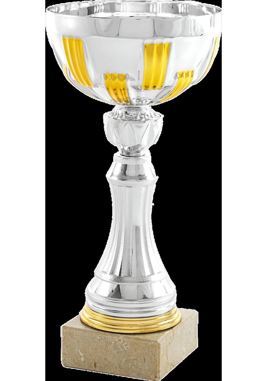 Copa mini balón bicolor Dorada/Plata