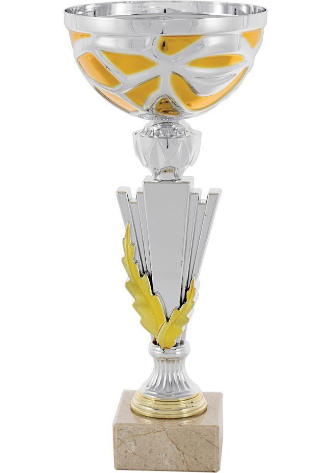 Trofeo Columna Detalle Dorado