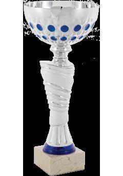 copa balon entramado azul esferico 14