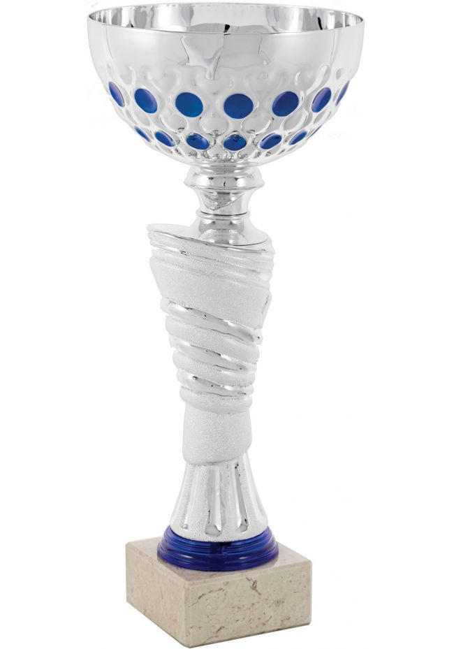 Blue Spherical Ball Cup