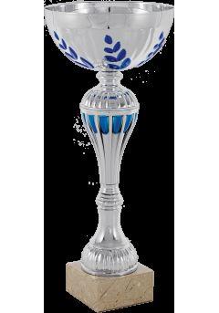 copa balon entramado vaso azul cobalto 9
