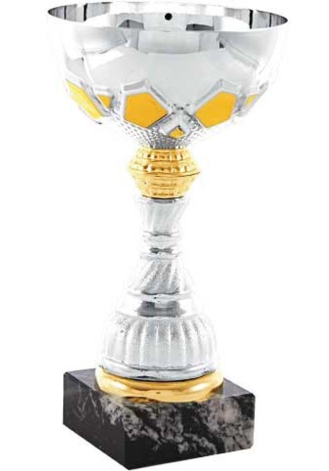 Trofeo trapecio MINI de doble aro