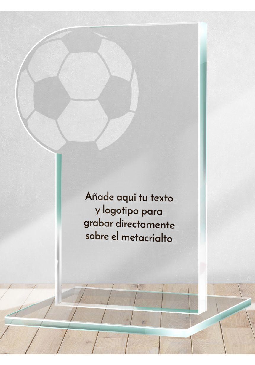 Trofeo de Futbol en metacrilato calado