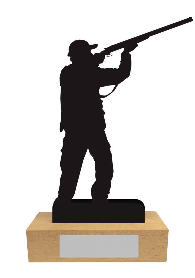 Trofeo de Caza en Madera