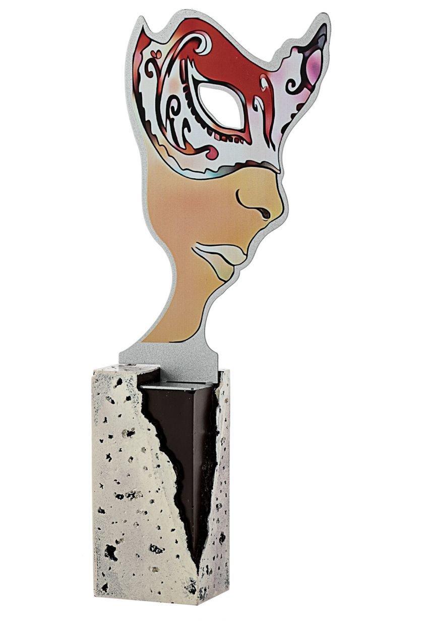 Trofeo Metal Máscara