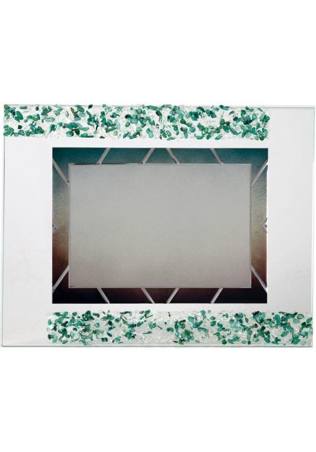 Placa de homenaje detalle verde