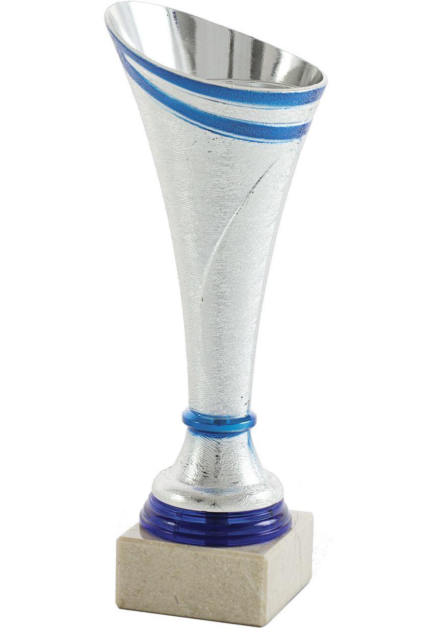 Trofeo copa cónica plata