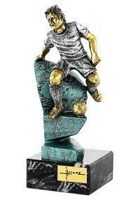Trofeo de resina futbolista